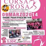 Volantino CORSA IN ROSA 3A EDIZIONE Domenica 9 Marzo 2014