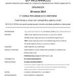 Volantino CORSA PER ANNICCO E DINTORNI 1a edizione