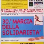 marcia della solidarietà 2014 a grumello del monte
