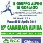 volantino pag 1 camminata alpina a gorlago 2014