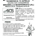 volantino corsa podistica bric e fos mirabello monferrato 13 aprile 2014
