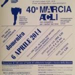 volantino marcia acli 40a edizione cologno monzese