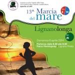 volantino ufficiale marcia del mare 2014 lignanolonga