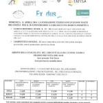 volantino marcia fondaz exodus garlasco 13 aprile-1