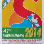 volantino corsa podistica sarneghera 2014