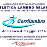 corsa podistica corrilambro 2014