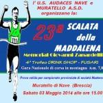 corsa in montagna scalata della maddalena 2014