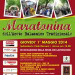 maratonina Aceto balsamico tradizionale 2014