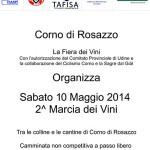 volantino marcia dei vini 2014