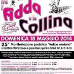 volantino corsa fra l'Adda e la collina 2014