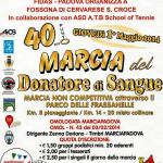 volantino marcia del donatore 2014 fossona