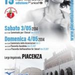 volantino piacenza half marathon 2014