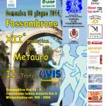 volantino corsa podistica a fossombrone 2014