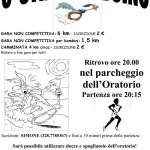 volantino corsa podistica strapralboino 2014