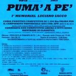 volantino corsa pumà a pè pomaro monferrato luglio 2014