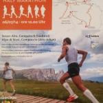 volantino mezza maratona alpe di siusi 2014