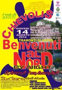 volantino corsa chevolis by night 2014