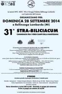 volantino corsa 31a strabiliciacum 2014