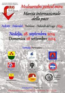 volantino marcia internazionale della pace 2014
