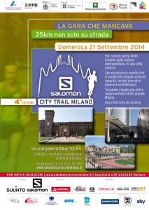 volantino milano city trail 2014