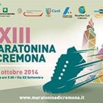 volantino maratonina cremona 2014