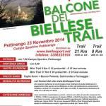 volantino corsa balcone biellese trail 2014