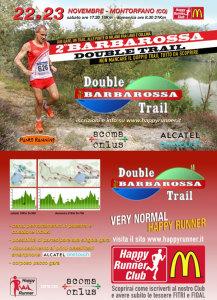 volantino corsa barbarossa double trail 2014
