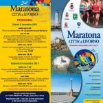 volantino maratona città di livorno 2014