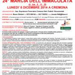 volantino Marcia Immacolata 8 dicembre 2014