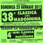 volantino corsa classica della madonnina 2015 modena