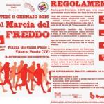 volantino marcia del freddo 2015