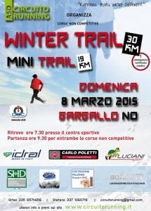 volantino winte trail 2015 gargallo