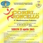 volantino 9na corri Roncello 2015