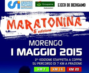 banner 6a maratonina di Morengo 2015