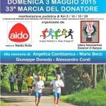 volantino marcia del donatore 33ma edizione san paolo d argon