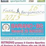 volantino quarta prova fosso bergamasco 2015 Bariano