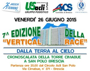 volantino vertical race 7ma edizione 2015