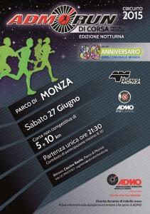 volantino admorun Monza 2015 night edition