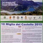 volantino corsa 10 miglia del castello 2015