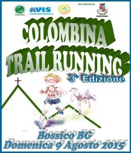 volantino corsa colombina trail running 2015
