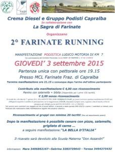 volantino farinate running 2015