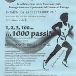 volantino corsa 1000 passi a busnago 2015
