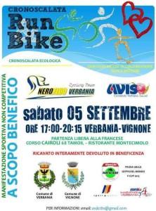 volantino cronoscalata run e bike 2015 verbania