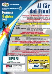 Volantino Al gir da Final 2015