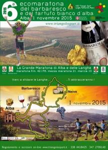Ecomaratona del barbaresco e del tartufo bianco d'alba - 6a edizione