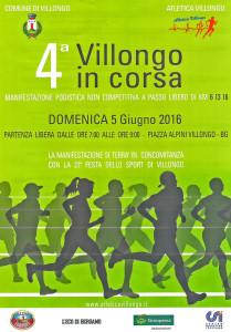 volantino villongo in corsa 2016