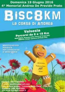 volantino Bisc8km 2016