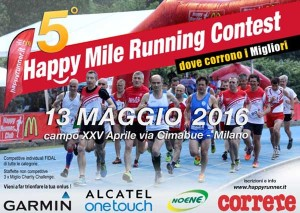 volantino happy runners contest 2016