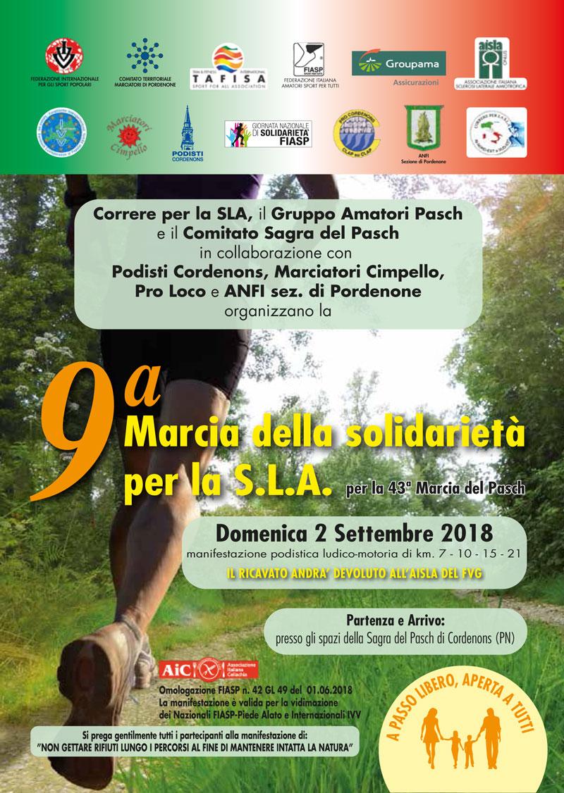 Calendario Fiasp Fvg.9a Marcia Della Solidarieta Per La Sla Podopodo It