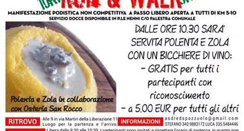 volantino corsa run and wolk 2014 pozzuolo martesana
